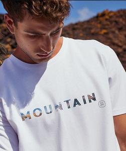 T-Shirt mit Motiv / MOUNTAIN - Kultgut