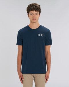 T-Shirt mit Motiv / Wellenlänge  - Kultgut