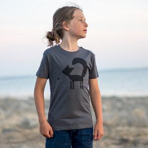 Kinder T-Shirt Franzi Fuchs anthracite - Cmig