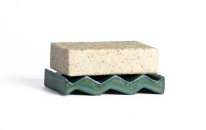 Seifenschale aus Keramik Rocky M. in 5 Farbvarianten - OBAstudios