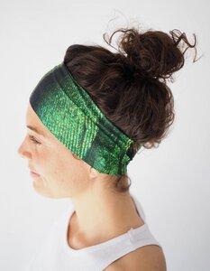 Breites Dünnes Workout Headband Stirnband / HUMBLE BIRD - Arctic Flamingo