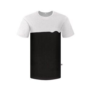 Wave T-Shirt Schwarz - bleed