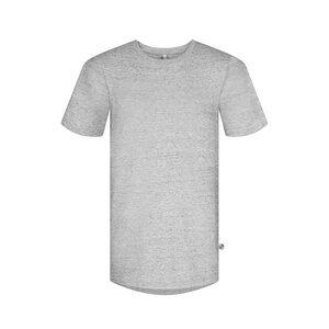 T-Shirt Edelweiss® Grau - bleed