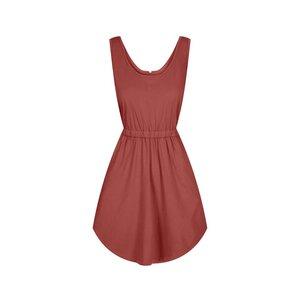 Sporty Kleid Damen Rot - bleed