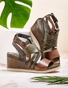 Sandale Sabrina - go green; berlin