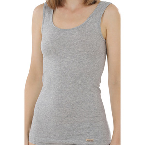 Damen Unterhemd Achselträger - comazo earth