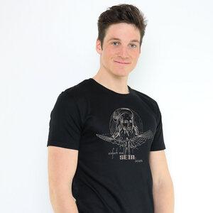 Shirt Da Vinci aus Modal®-Mix Schwarz - Gary Mash