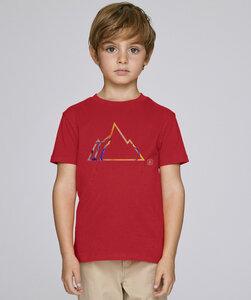 T-Shirt mit Motiv / COLORFUL MOUNTAIN - Kultgut