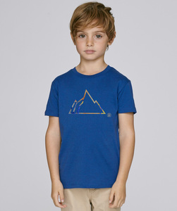 T-Shirt mit Motiv / COLORFUL MOUNTAIN - Kultgut