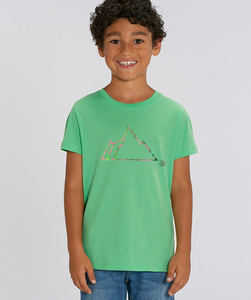 T-Shirt mit Motiv / NEON MOUNTAIN - Kultgut