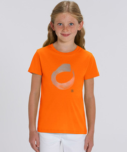 T-Shirt Mädchen mit Motiv / CIRCLE - Kultgut