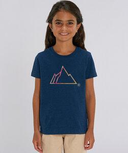 T-Shirt Mädchen mit Motiv / FADED MOUNTAIN - Kultgut