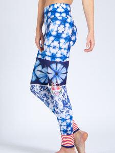 Damen Yoga Leggings By The Sea - Magadi