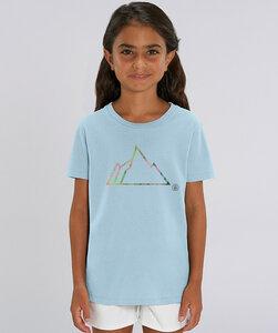 T-Shirt Mädchen mit Motiv / NEON MOUNTAIN - Kultgut