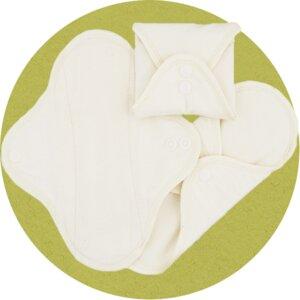 Stoffbinden aus Biobaumwolle - Imse Vimse (erdbeerwoche)
