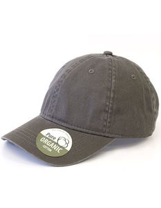 Basecap Organic Cotton Brain Waves 6 - Panel Cap Kappe - Brain Waves