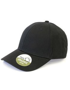 Basecap Organic Cotton Brain Waves 6 - Panel Cap Kappe Unstructured - Brain Waves