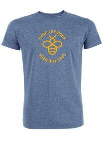 "Herren T-Shirt aus Bio-Baumwolle ""Save the bees"" - University of Soul"