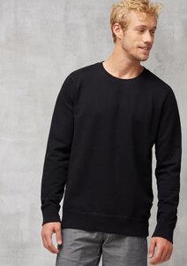 Herren Sweatshirt aus Bio Baumwolle schwarz - recolution