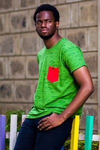 Kipepeo Männer Shirt 'Crocodiles'. Handmade in Kenya. - Kipepeo-Clothing