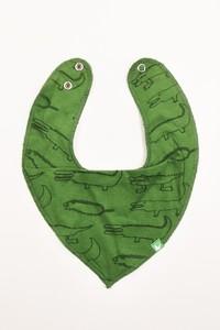 Kipepeo Baby Halstuch Crocodiles - Kipepeo-Clothing