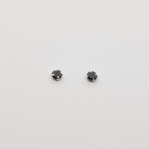 Ohrstecker 'black stud' - fejn jewelry