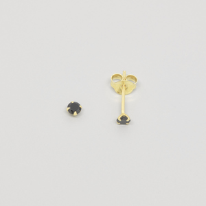 Ohrstecker 'black stud' - fejn jewelry