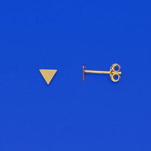Ohrstecker 'shiny triangle' - fejn jewelry
