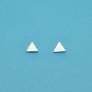 Ohrstecker 'satin triangle' - fejn jewelry