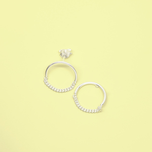 Ohrstecker 'circle chain' - fejn jewelry