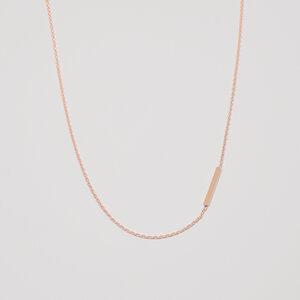 Kette 'bar'  - fejn jewelry