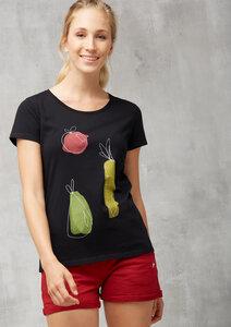 T-Shirt Basic #VITAMIN schwarz - recolution