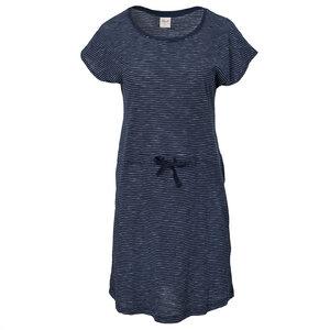 Kleid - blau geringelt - People Wear Organic