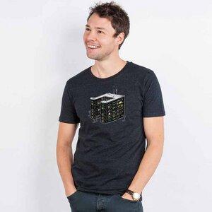 Robert Richter – House Music - Mens Low Carbon Organic Cotton T-Shirt - Nikkifaktur