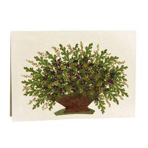 Grußkarte Wildblumen VIOLETTER STRAUSS - GLOBO