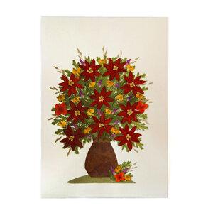 Grußkarte Wildblumen DAHLIA - GLOBO Fair Trade