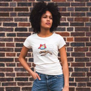Robert Richter – Super Rubber - Ladies Organic Cotton T-Shirt - Nikkifaktur