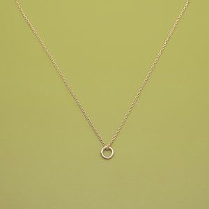 Kette 'small circle' - fejn jewelry