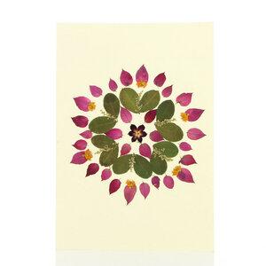 Grußkarte Wildblumen ABENDSONNE - GLOBO
