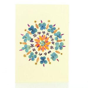 Grußkarte Wildblumen VEILCHENTANZ - GLOBO