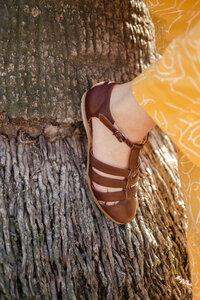 Sandale - Beata - Cognac - Werner Schuhe