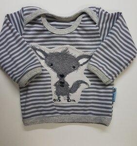Babyshirt Stripes Susi Socke - Omilich