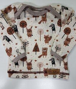 Babyshirt Waldtiere - Omilich