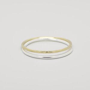 Ring 'bicolor set' - fejn jewelry