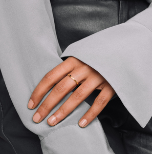 Ring 'black hammered' - fejn jewelry