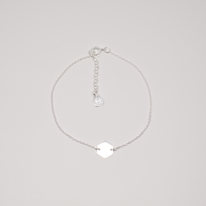 Armband 'hexagon' - fejn jewelry