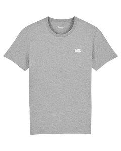 Herren T-Shirt Regular Fit mit Fisch Print Bio & Fair - Hanseat