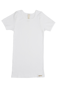 Fairtrade Natur Kinder Shirt kurzarm - comazo|earth