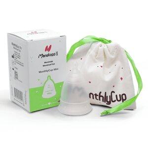 Menstruationskappe (transparent) - MonthlyCup (erdbeerwoche)