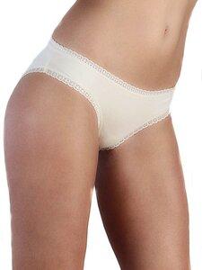 3er Pack Damen Slip Spitze 6 Farben Bio-Baumwolle Bikinislip  - Albero